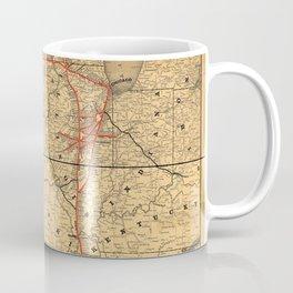 Illinois Central Railroad 1892 Coffee Mug