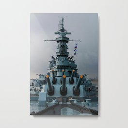 Mighty A Metal Print