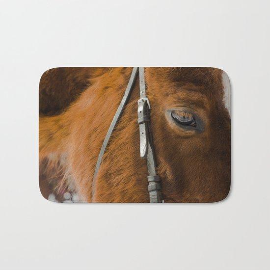 HORSE EYE Bath Mat
