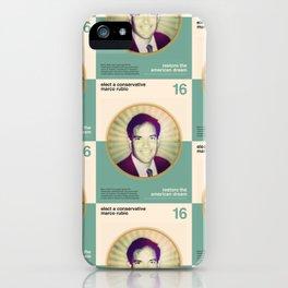 Marco Rubio iPhone Case
