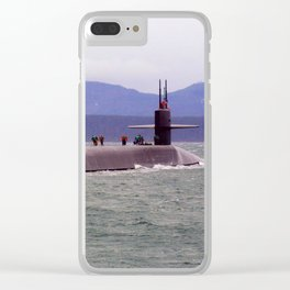 USS OHIO (SSGN-726) Clear iPhone Case