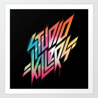 studio killers Art Prints featuring Studio Killers by STUDIO KILLERS