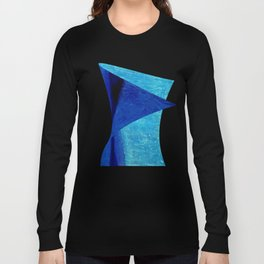 Blue Serenity Long Sleeve T-shirt