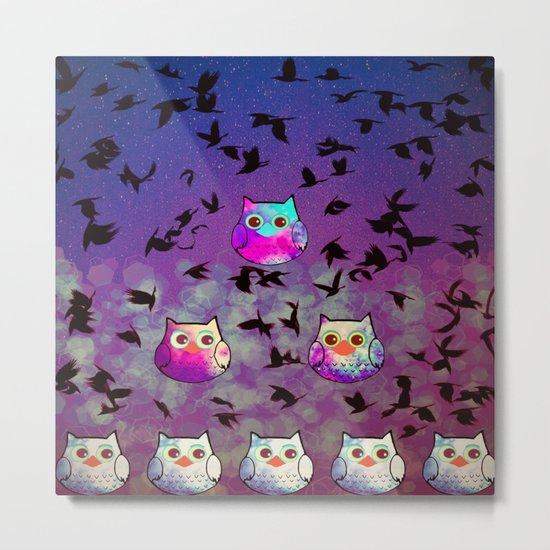owl-444 Metal Print
