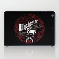 winchester iPad Cases featuring Winchester & Sons by Manny Peters Art & Design