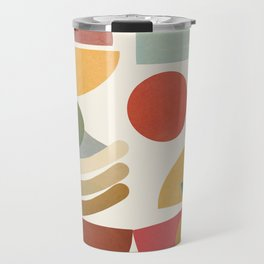 Modern Abstract Art 77 Travel Mug