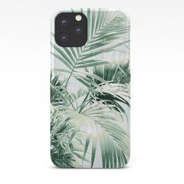 Palm Leaf Vibes #1 #tropical #decor #art #society6 iPhone Case