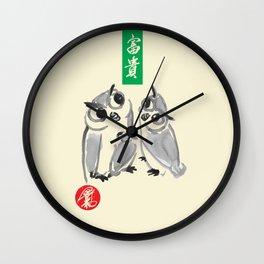 Owl - Kyu Tae Kim Wall Clock