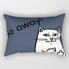 Naughty Cat Rectangular Pillow