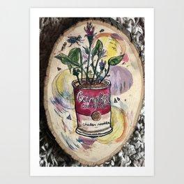 Canned Gewds Art Print