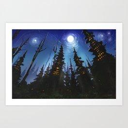 Forrest City Art Print