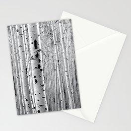 Aspen Tree Maze Stationery Cards