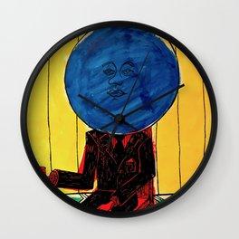 Bleuberry - Pop Art Surrealism Art Wall Clock