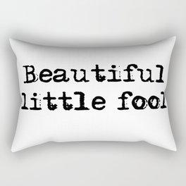 Beautiful little fool - F Scott Fitzgerald Rectangular Pillow