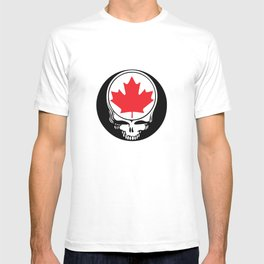 Canadian Steal Your Face T-shirt