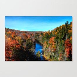 'Blue Waters' Canvas Print
