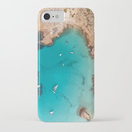 Aerial Ibiza Coast iPhone Case