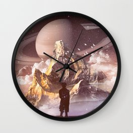 INFINITE WORLD #2 Wall Clock