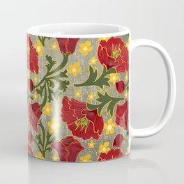 Vintage Crepe Floral Coffee Mug