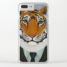 Year of the Tiger Clear iPhone Case