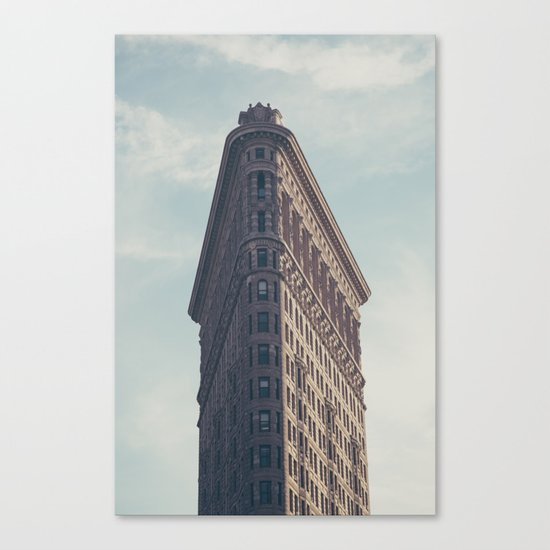 Flat Flat Iron - NYC Canvas Print