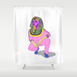 Tut $WA6 pink Shower Curtain