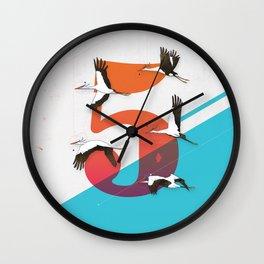 5Birds Wall Clock
