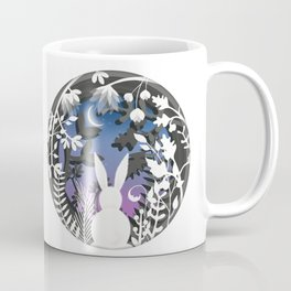 Moonlight Bunny Star Gazer Coffee Mug