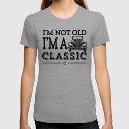 I'm Not Old I'm A Classic Funny Vintage Car Shirt For Men T-shirt