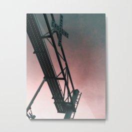 The Redland Railroad Metal Print