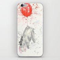 eeyore iPhone & iPod Skins featuring Eeyore by Makenna Raye