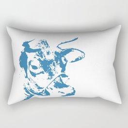 Follow the Herd - Blue #154 Rectangular Pillow