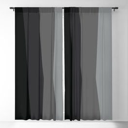 Geometric Harmony Angles Abstract Blackout Curtain
