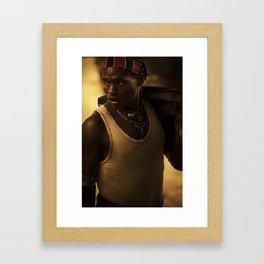 Ethiopia 10 Framed Art Print
