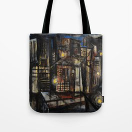 Classical African-American Masterpiece 'Harlem at Midnight' by Charles Alston Tote Bag