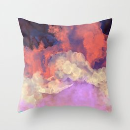 Into The Sun Throw Pillow