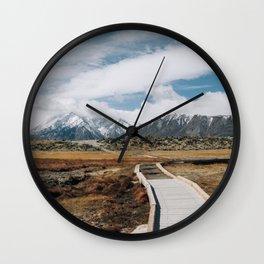 SIERRA MOUNTAINS ADVENTURE Wall Clock
