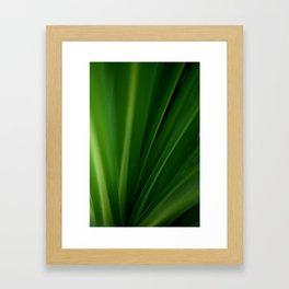 The Lushest Green of Life Framed Art Print
