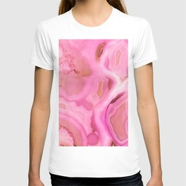 Juicy Pink Agate T-shirt