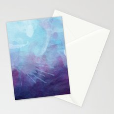 Blue Watercolor I Stationery Cards