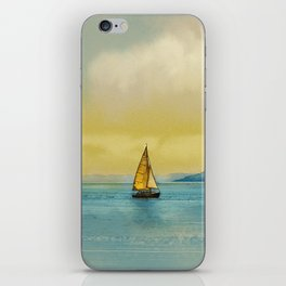 Italian landscape iPhone Skin