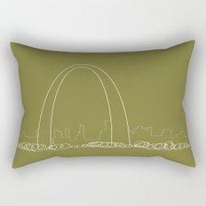 St. Louis by Friztin Rectangular Pillow