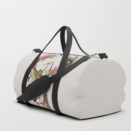 Christmas Deer Duffle Bag