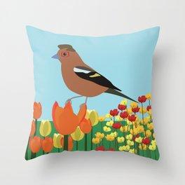 spring/summer Throw Pillow