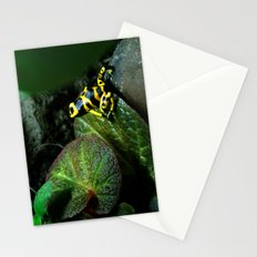 Leucomelas Poison Dart Frog Stationery Cards