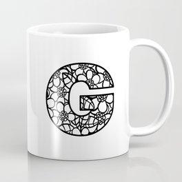 Letter G Coffee Mug