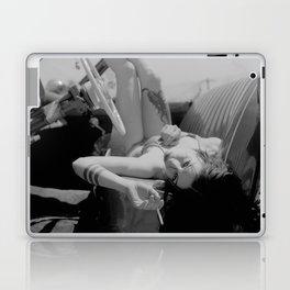 Chola Bad Ass Bitch Smokes Laptop & iPad Skin