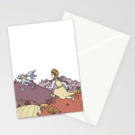The Magic Swan Geese Stationery Cards