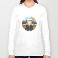 van Long Sleeve T-shirts featuring Love Van by Moremo