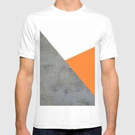 Concrete Tangerine White T-shirt